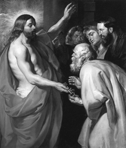 Rubens, Peter – Christ Giving the Keys to St. Peter