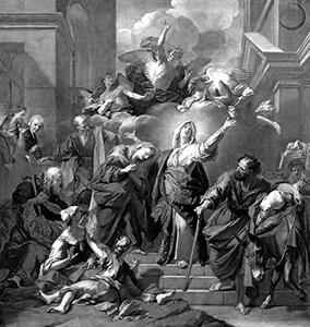 Jouvenet, Jean-baptiste - Madonna of the Magnificat